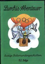 Lurchis Abenteuer lustige Salamandergeschichten 52.Folge von 1972 Werbecomic TOP