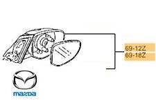 Genuine Mazda 2 2010-2014 Door Mirror Complete RH Driver Side - DF846912ZD