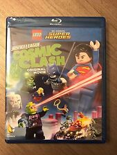 LEGO DC Comics Justice League Cosmic Clash Movie Blu-ray and DVD New Sealed