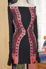 SAVE THE QUEEN   Superbe  tunique ou robe  beaux coloris et  imprimés Taille L