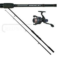 Oakwood 6FT Spinning Fishing Rod & R30 Reel With Line Combo Coarse Carp Spin