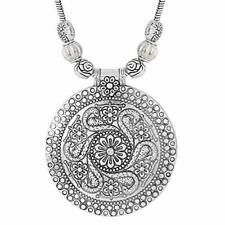 Indian Jewelry Bollywood Sunrises Tribal Beads Traditional Oxidized Necklace Set