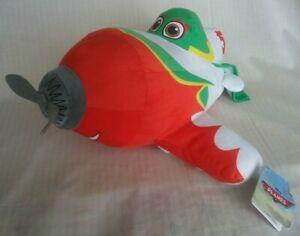 Disney Planes El Chubacabra Plush Toy NWT 35cm