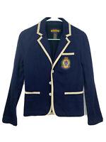 Ralph Lauren Rugby blazer jacket size S cotton viscose blue