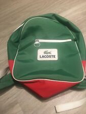lacoste backpack Green Logo