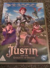 Justin And The Knights Of Valour. DVD Great Action Movie. Bargain. **£1.35**