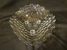 Elegant Fostoria American Glassware - 3-Toed Tricorne Bowl
