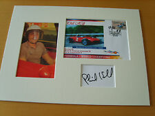 Phil Hill Genuine Autograph - UACC / AFTAL.