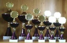 11 Pokale Serie gestaffelt 20-35cm mit Emblem + Gravur (Pokal Sportfest) #914