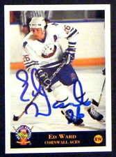 Ed Ward Cornwall Aces 1994 Classic Pro Prospects Signed Card