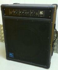 "AC EURO 200 AC200B  Bass Combo 15"" Speaker Amp Used..Awesome Bass tone"