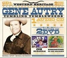Western Heritage: Tumbling Tumbleweeds by Gene Autry (CD & DVD) Oh Susanna + NEW
