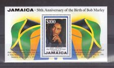 JAMAICA, 1995, 50TH ANNIV OF BIRTH OF BOB MARLEY, $100 SG M/S 882, MNH, CAT £8