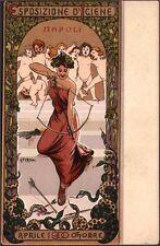 A. Petroni. Esposizione d Igiene Napoli. 1900. Art Nouveau