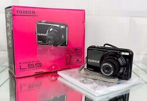 Fujifilm FinePix L55 12.0MP Digital Camera - Black. Fully Tested & Working