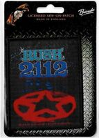 Official Licensed Merch Woven Sew-on PATCH Rock : RUSH : 2112
