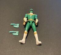 Power Rangers Zeo Hatchet Action Green Ranger 1996