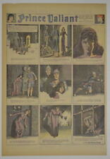 PRINCE VALIANT Full Color SUNDAY PAGE King Features Hal Foster 7/5/1942, #282