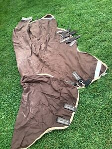RAMBO DUO TURNOUT  RUG  - 6ft 6in