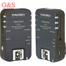 2PCS Yongnuo YN-622N II TTL Wireless Flash Triggerfor Nikon D800 D700 D600 D610