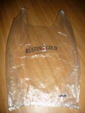 Plastiktüte Tüte Sammler Tragetasche Küsten Gold