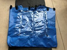 Dunk Tank Water Liner with clear window for portable dunk tanks.