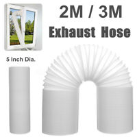 Exhaust Hose For Portable Air Conditioner 5'' Dia. 2/3M Vent Tube Duct