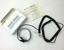 """Vintage """"Static Watch"""" NU-CONCEP SYSTEMS Static Discharge Wrist Band"""