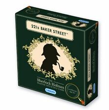 GIBSONS 221b BAKER STREET THE SHERLOCK HOLMES MASTER DETECTIVE BOARD GAME - NEW