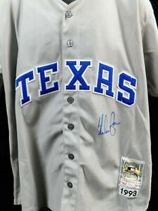 Nolan Ryan Texas Rangers Signed Authentic Jersey JSA Authenticated