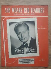 She Wears Red Feathers (And Huly Huly Skirt) = 1952