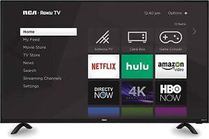 """RCA 50"""" Roku 4K Ultra HD Smart TV, RTRU5028"""