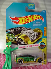 2016 Hot Wheels FAST CASH #34✰Green/Gold/Black; oh5✰Tool-in-1✰Case N