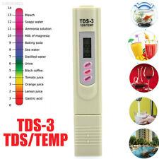 2159 Ph Tester TDS-3 Digital LCD Practical Portable Ph Pen Test Pen Green ABS