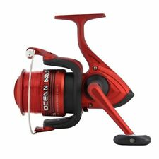 "SEA FISHING RED REEL OCEAN MASTER 70"" 3BB WITH LINE LINEAEFFE"