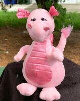 """Ganz Webkinz Beautiful Pink Dragon 9"""" SOFT Plush Stuffed Animal Toy"""