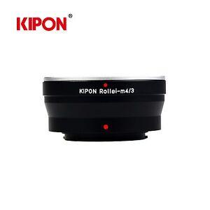 Kipon Adapter for Rollei QBM Mount Lens to Micro Four Thirds M4/3 MFT Camera