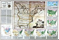 ⫸ 1987-9 Territorial Growth of the U.S. – National Geographic USA Map Poster
