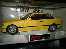 1:18 UT BMW M3 E36 Coupe 1996 yellow/gelb Nr. 180022300 in OVP