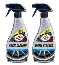 Turtle Wax Wheel Cleaner Restores Instant Alloy Shine Clear Brake Dust 2 x 500ml