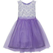 LAVENDER Flower Girl Dress Birthday Dance Party Bridesmaid Wedding Recital Prom