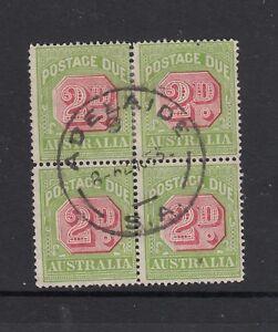 POSTAGE DUES: 1931-37 C of A Perf 14 2d SG D102 in a very fine used block of 4.