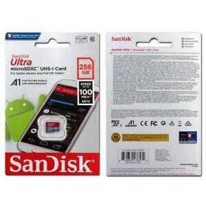 SanDisk 256GB Ultra Micro SD HC Class 10 TF Flash SDHC Memory Card