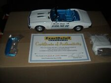 EXACT DETAIL--1/18 1967 CAMARO INDY PACE CAR #WCC 214 --RARE----WITH C.O.A.-NICE