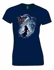 Belle et la Bête Film 2017 Femme Coupe Chemise Tshirt Haut T-Shirt AA58