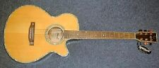 Guitare Electro-acoustique Nash N20CEQ Country Jumbo Naturelle