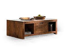 Wohnzimmertisch Couchtisch Tisch Wohnzimmer 118x65 WHITNEY Massivholz Palisander