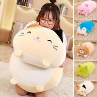 30cm Lying Pig Animal Plush Stuffed Doll Toy Cushion Huggable Throw Pillow