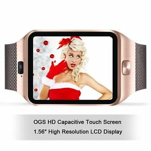 New Bluetooth Smart Watch with Camera Phone Mate GSM For Android iPhone Samsung