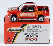 Matchbox Promo 2001 Toy Show Hershey PA Ford Explorer Sport Trac Limited Edition